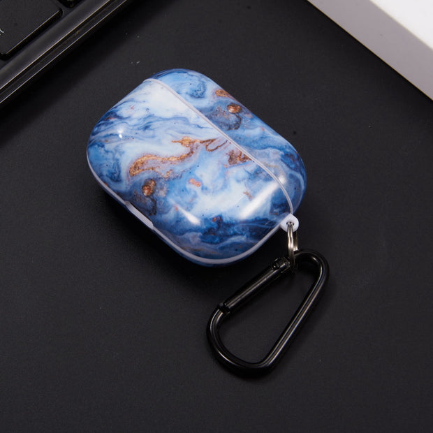 Blue Marble Airpods Pro - Bling Cases.com
