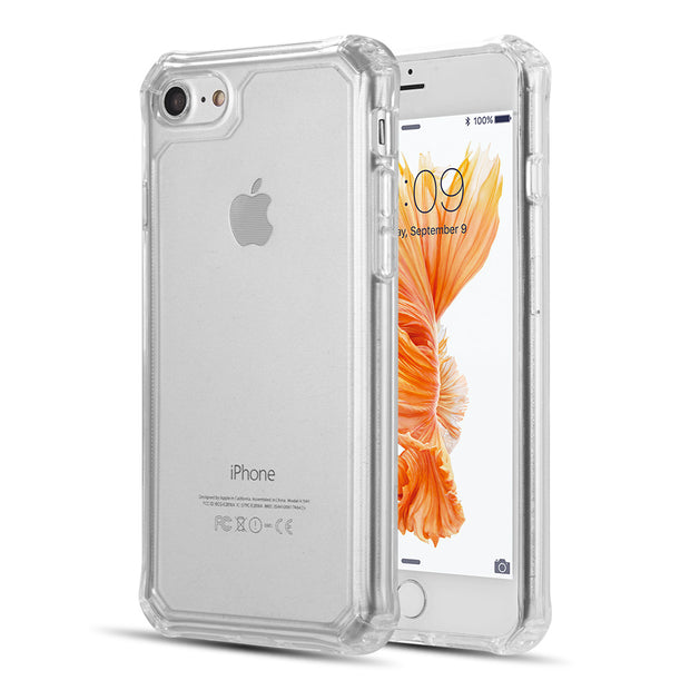 Clear Flexible Corners Skin Iphone SE 2020 - Bling Cases.com