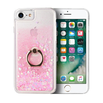 Liquid Ring Pink Case Iphone 6/7/8 - Bling Cases.com