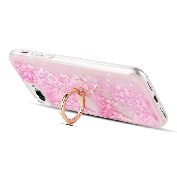 Liquid Ring Pink Case  Iphone 6/7/8 Plus - Bling Cases.com