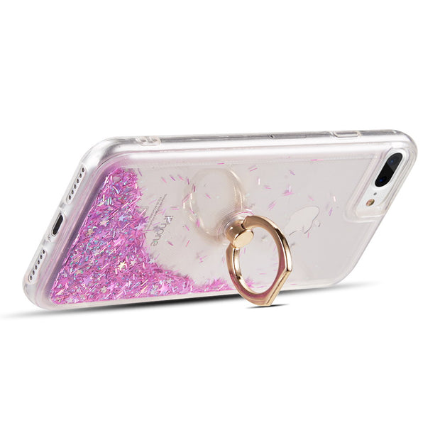 Liquid Ring Purple Case  Iphone 6/7/8 Plus - Bling Cases.com