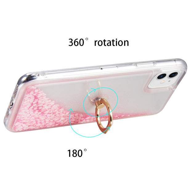 Liquid Ring Pink Case Iphone 11 - Bling Cases.com