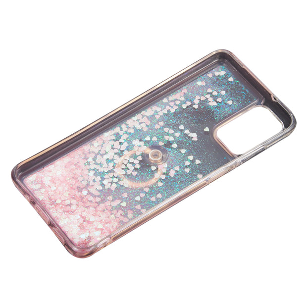 Liquid Ring Pink Samsung S20 - Bling Cases.com