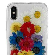 Real Flowers Rainbow Iphone 10/X/XS - Bling Cases.com