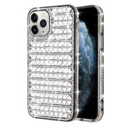 Triangle Bling Silver Iphone 11 Pro Max - Bling Cases.com