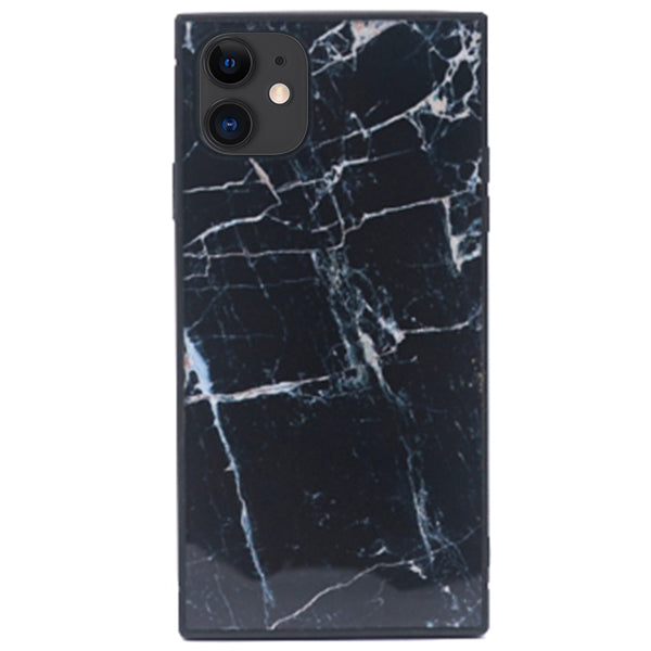 Square Marble Box Black Iphone 11
