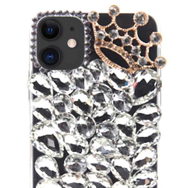 Handmade Bling Silver Fox Case Iphone 11