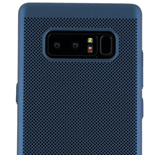 Super Thin Rubberized Blue Case Note 8 - Bling Cases.com