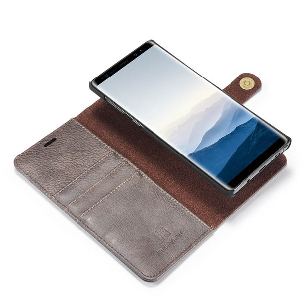 Detachable Ming Grey Wallet Samsung Note 9 - Bling Cases.com