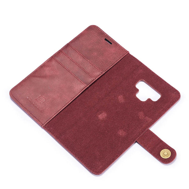 Detachable Ming Burgundy Wallet Samsung Note 9 - Bling Cases.com