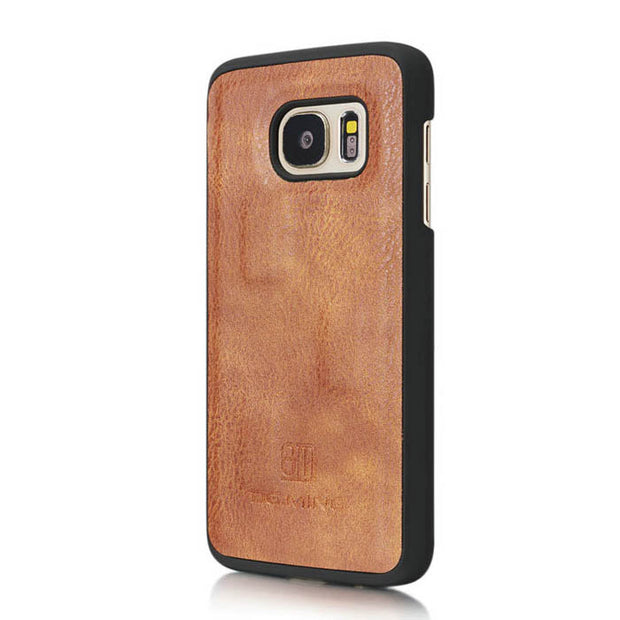 Detachable Ming Brown Wallet Samsung S7 - Bling Cases.com