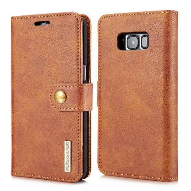 Detachable Ming Wallet Brown Samsung S8 - Bling Cases.com