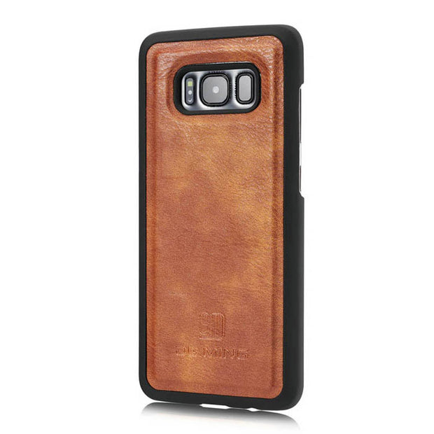 Detachable Ming Wallet Brown Samsung S8 Plus - Bling Cases.com