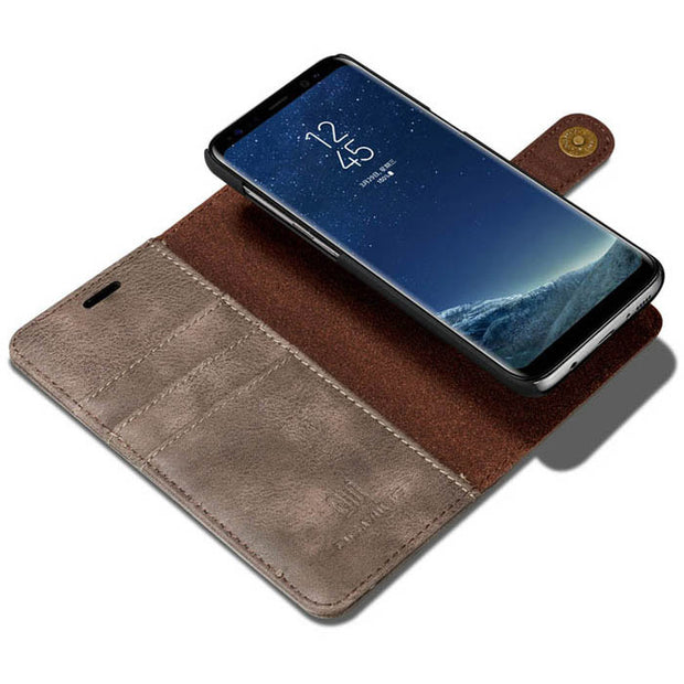 Detachable Ming Wallet Grey Samsung S8 - Bling Cases.com