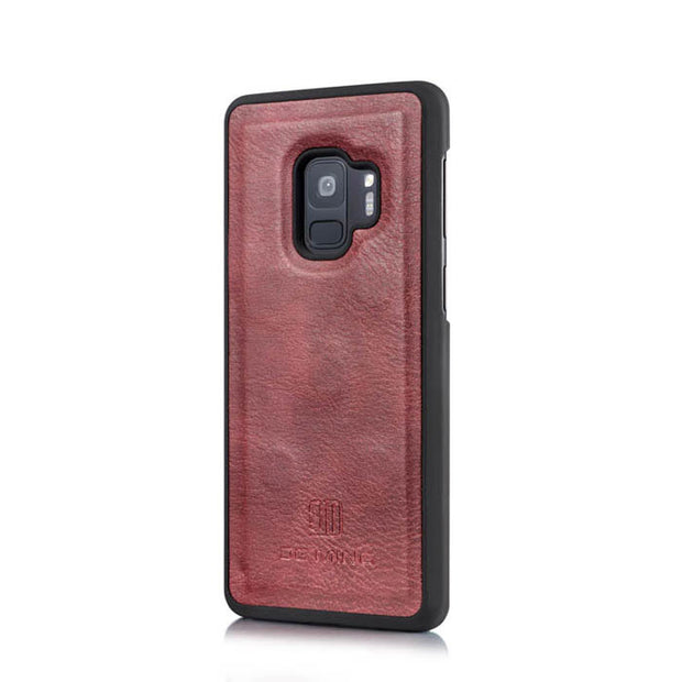 Detachable Ming Wallet Burgundy Samsung S9 - Bling Cases.com