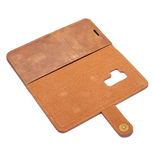 Detachable Ming Wallet Brown Samsung S9 Plus - Bling Cases.com