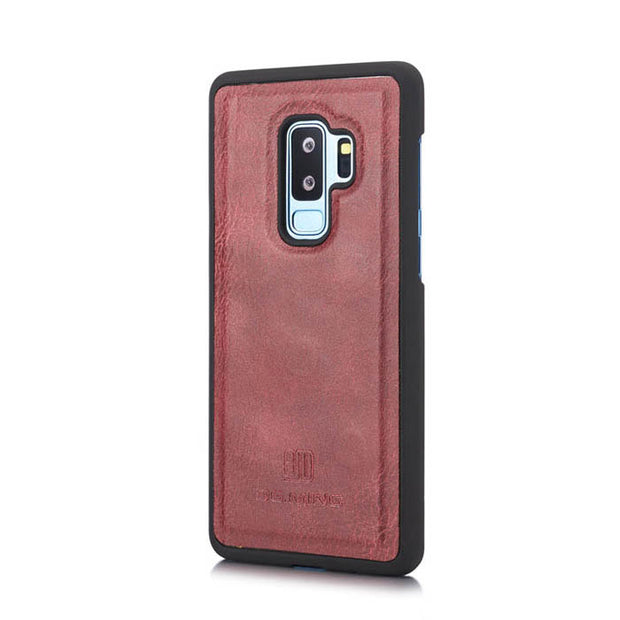 Detachable Ming Wallet Burgandy Samsung S9 Plus - Bling Cases.com