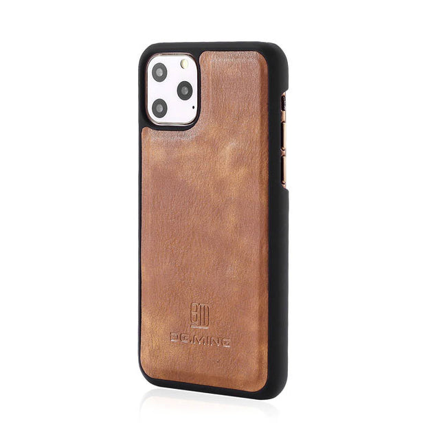 Detachable Ming Brown Wallet Iphone 11 Pro Max - Bling Cases.com