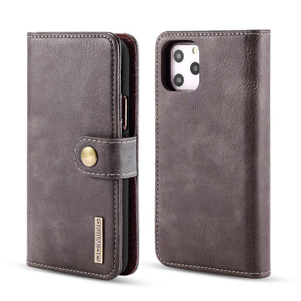Detachable Ming Grey Wallet Iphone 11 Pro Max - Bling Cases.com