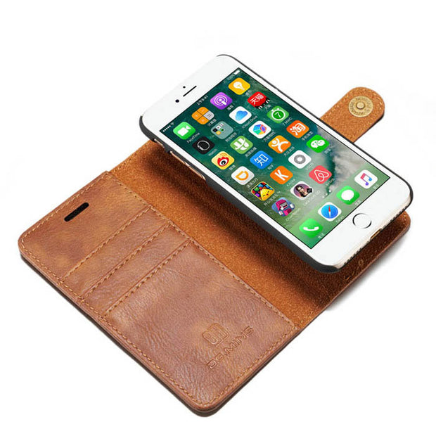 Detachable Wallet Ming Brown Iphone SE 2020 - Bling Cases.com