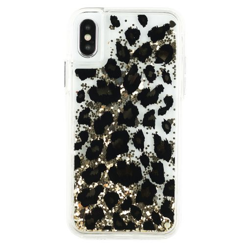 Liquid Leopard Case Iphone 10/X/XS - Bling Cases.com