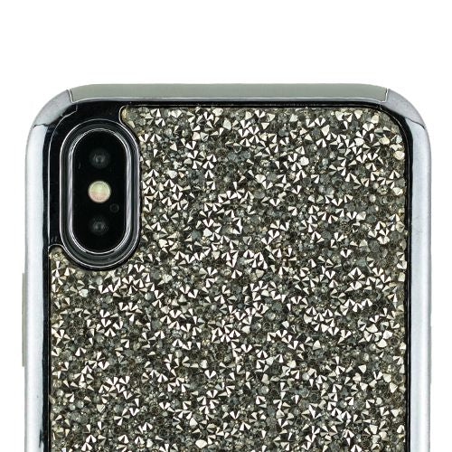 Hybrid Bling Grey Case Iphone 10/X/XS - Bling Cases.com
