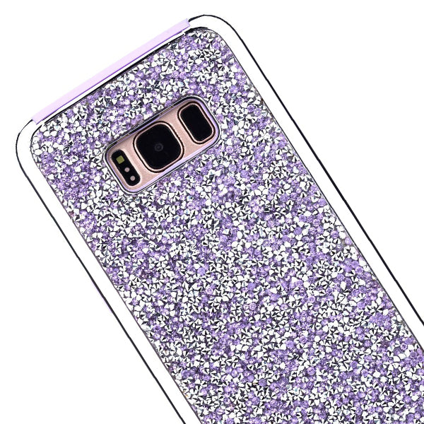 Hybrid Bling Case Purple Samsung S8