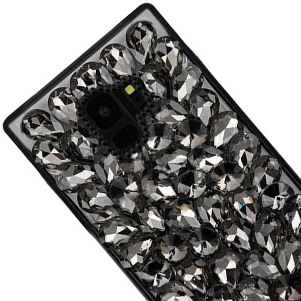Handmade Bling Black Case Samsung S9