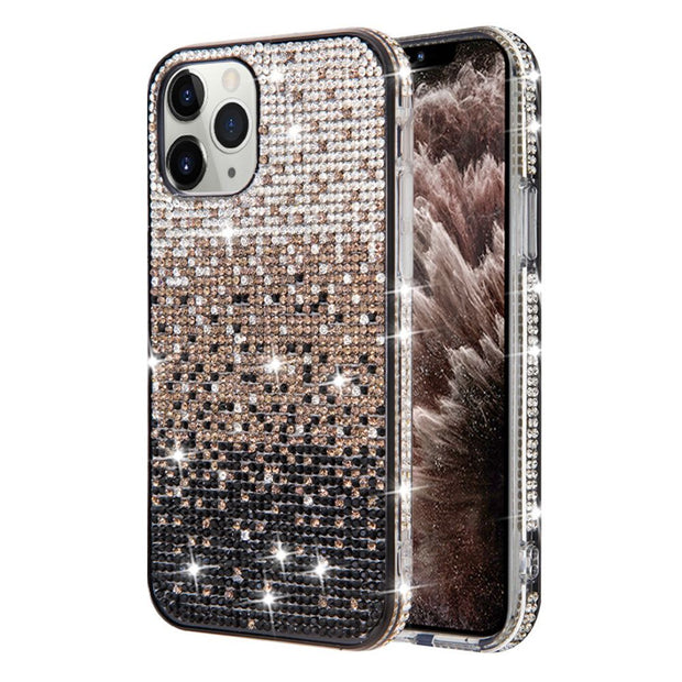 Bling Waterfall Black Iphone 11 Pro Max - Bling Cases.com