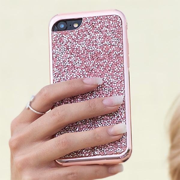 Hybrid Bling Pink Case Samsung Note 10 Plus