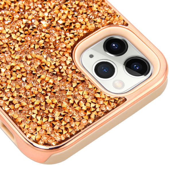 Hybrid Bling Rose Gold IPhone 11 Pro Max - Bling Cases.com