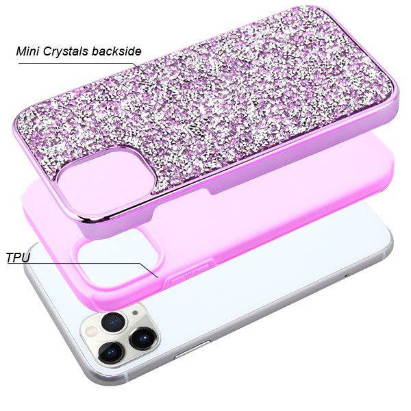 Hybrid Bling Purple IPhone 11 Pro - Bling Cases.com