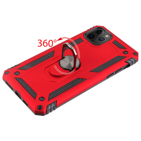 Hybrid RIng Red Iphone 11 Pro Max - Bling Cases.com