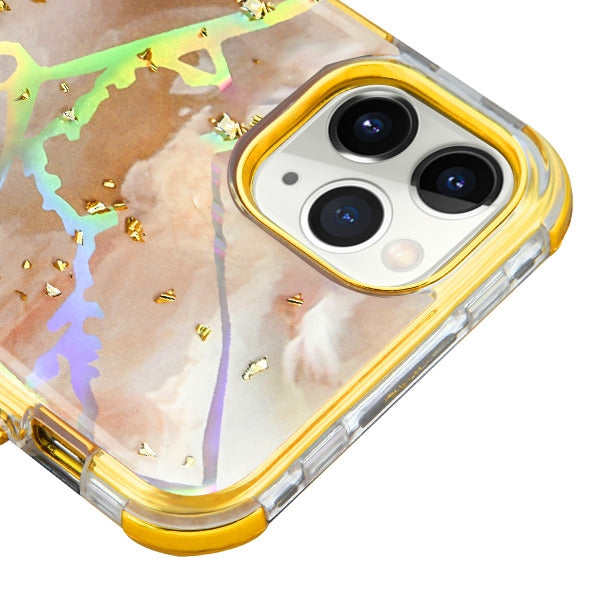 Heavy Duty Marble Gold Iphone 11 Pro - Bling Cases.com