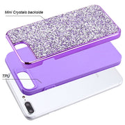 Hybrid Bling Case Purple Iphone 6/7/8 Plus - Bling Cases.com
