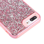Hybrid Bling Case Pink Iphone 6/7/8 Plus - Bling Cases.com