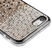 Waterfall Bling Black Case Iphone 7/8 - Bling Cases.com