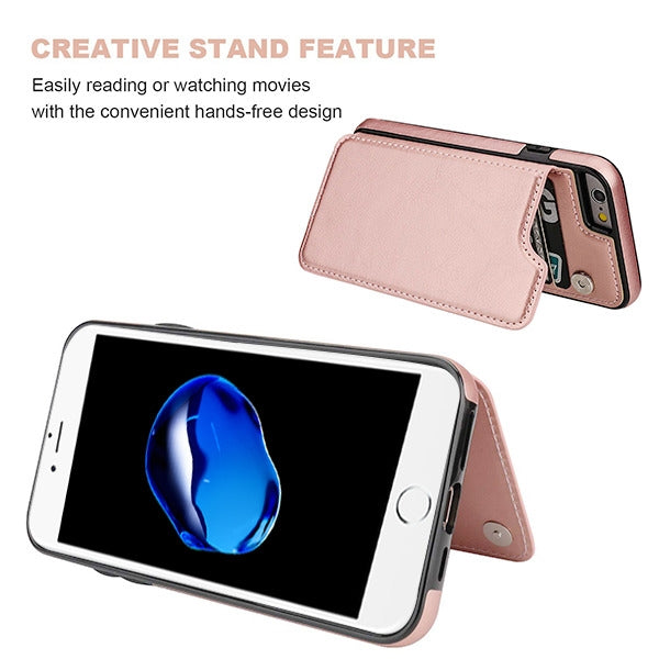 Book Card Rose Gold Case Iphone SE 2020 - Bling Cases.com