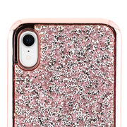 Hybrid Bling Pink Case Iphone XR