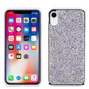 Hybrid Bling Purple Case Iphone XR