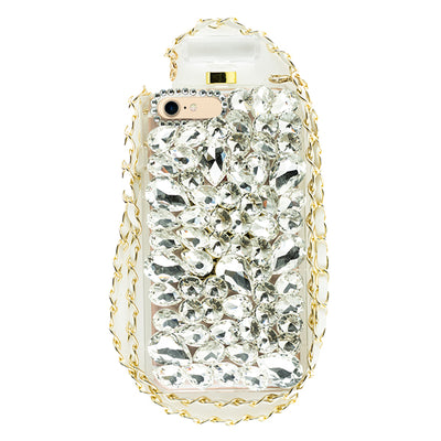 Handmade Silver Bling Bottle Iphone  7/8