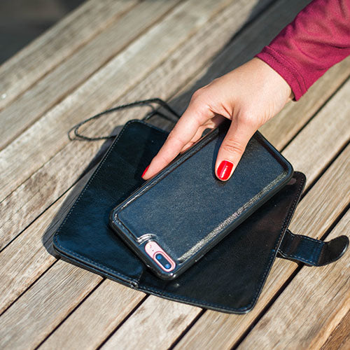 Detachable Wallet Black Iphone 11