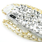 Handmade Silver Stone Bling Bottle Iphone XS MAX - Bling Cases.com