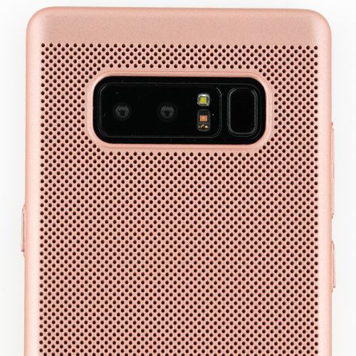 Super Thin Rubberized Rose Gold Case Note 8 - Bling Cases.com