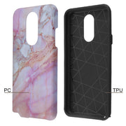 Marble Purple Peach Stylo 5 - Bling Cases.com