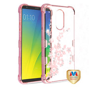 Spring Flowers Bling Pink Case Lg Stylo 4 - Bling Cases.com