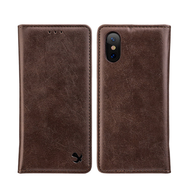 Detachable Wallet Brown Iphone XS MAX - Bling Cases.com
