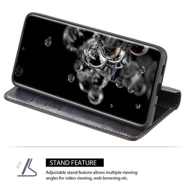 Detachable Wallet Black Samsung S20 Plus - Bling Cases.com
