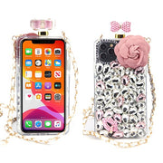 Handmade Bling Pink Flower Case Iphone 11 Pro