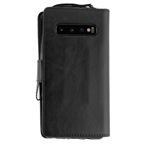 Handmade Black Bling Wallet Samsung S10 Plus